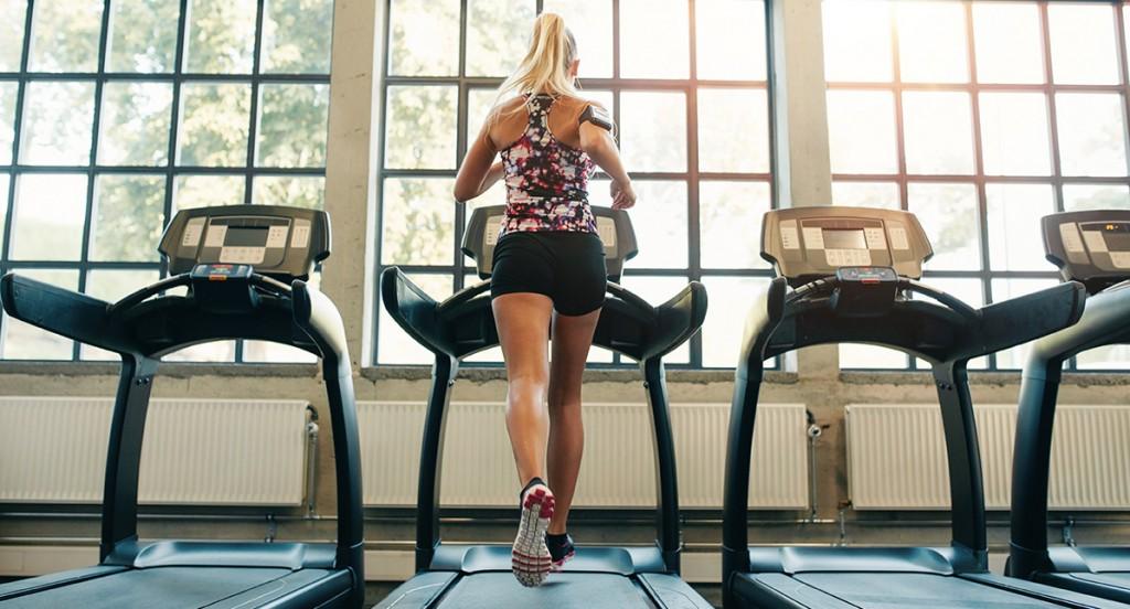 Treadmill HIIT Training