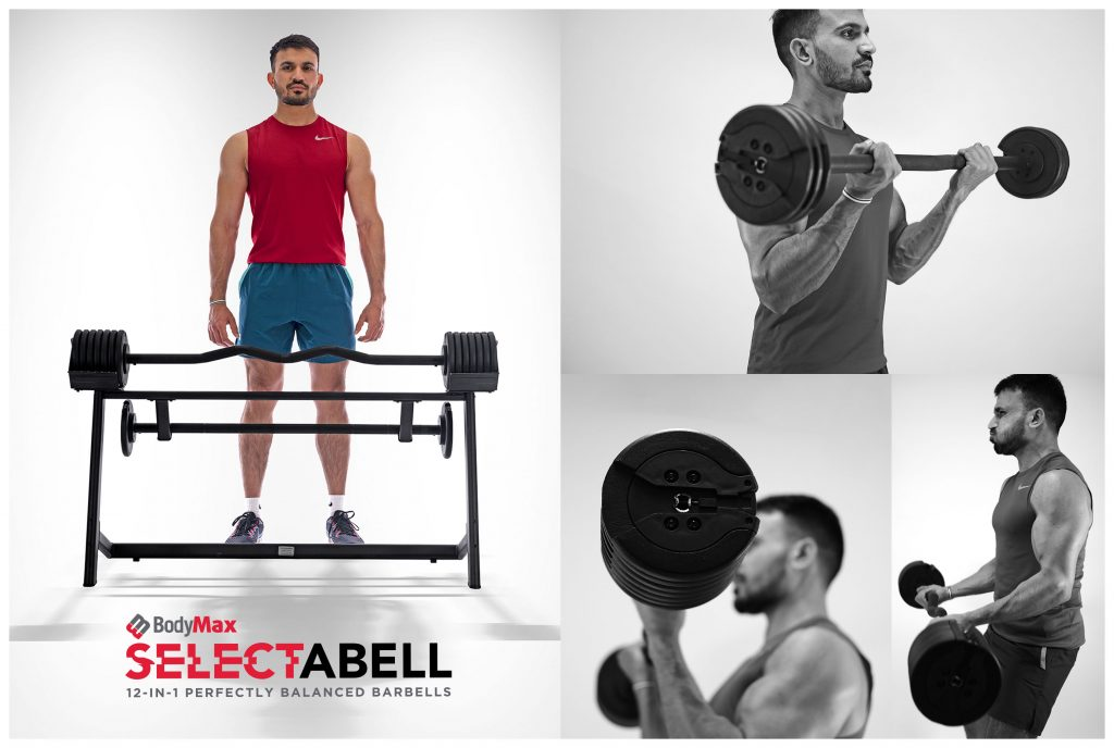 BodyMax Selectabell Barbell