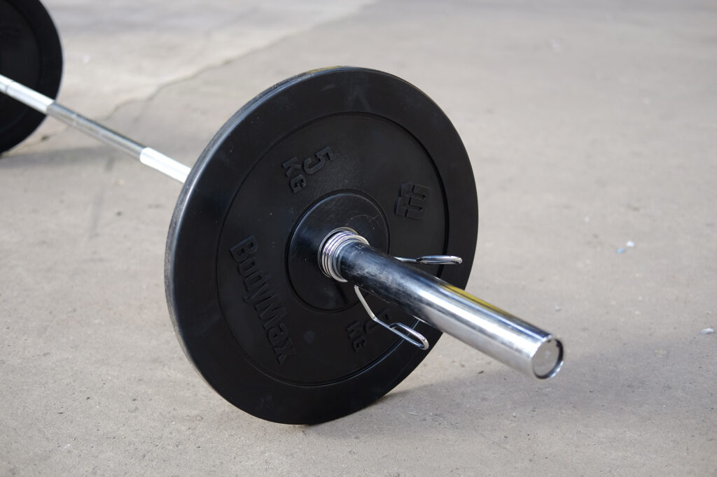 olympic barbell for weightlifting