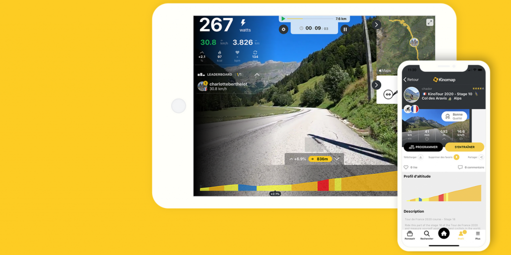 kinomap app