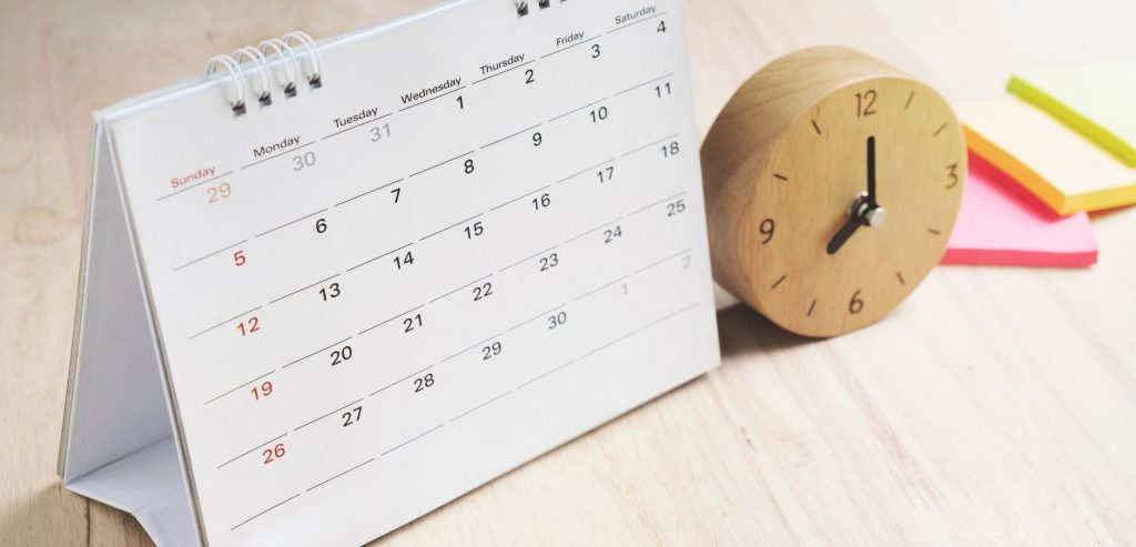 routine, calendar, new year's resolutions