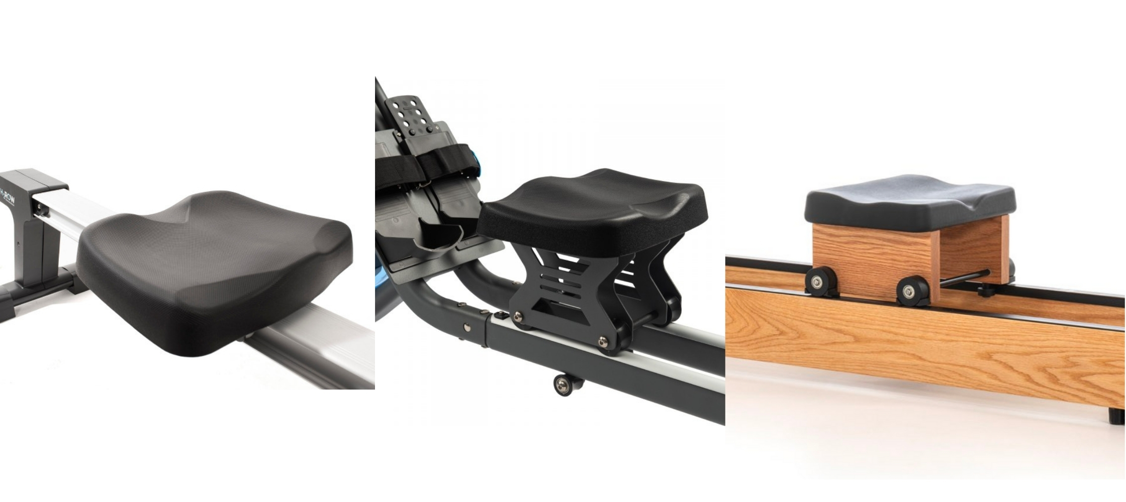 seat in rowing machines